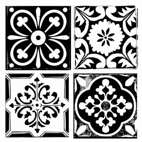 Stencil Stamperia  18x18cm y 0.5mm de espesor tile