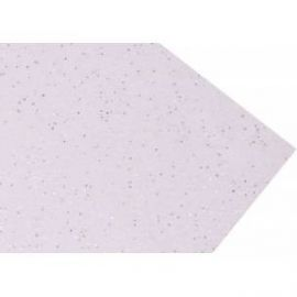 Goma eva super glitter 60x40 2mm Blanco