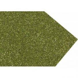 Goma eva super glitter 60x40 2mm Verde Lima