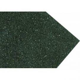 Goma eva super glitter 60x40 2mm Verde Navidad