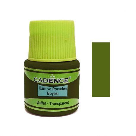 Pintura VITRAL Cadence 45ml Aceite Verde
