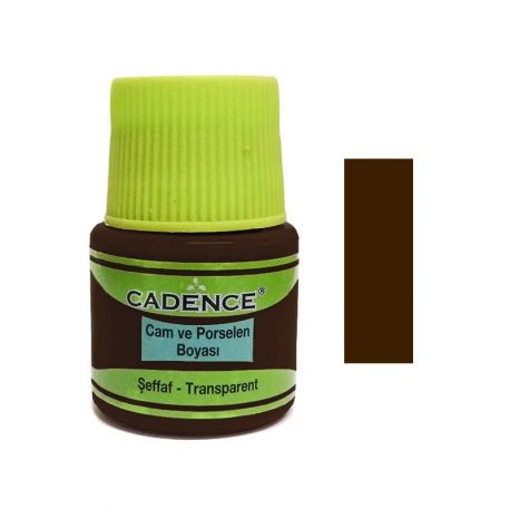 Pintura VITRAL Cadence 45ml Marrón