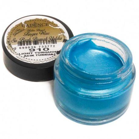 Oro en crema Cadence - Azul Turquesa