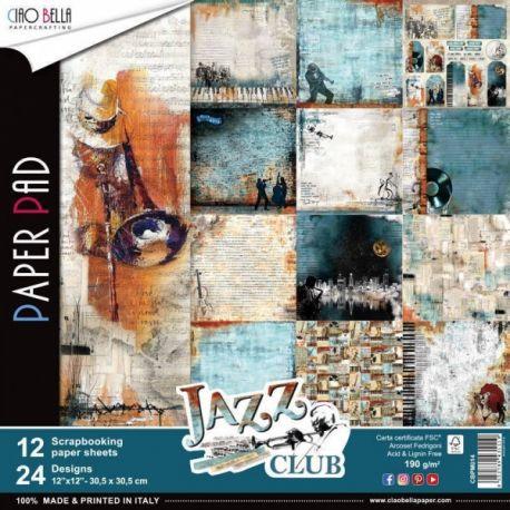 Set 8 papeles Ciao Bella Jazz Club