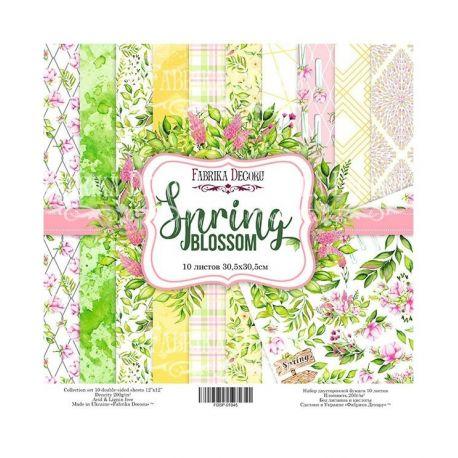 "Set 10 papeles Fabrika Decoru 30x30cm ""Spring"""