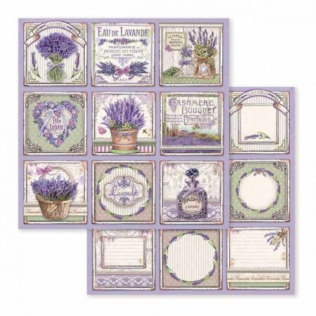 Papel de Scrap Stamperia Provence Cards
