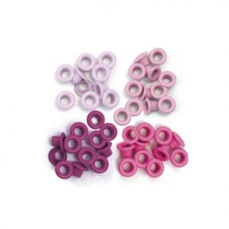 """Ojales pequeños 1/8"""" - 0.31cm PINK We-R"""