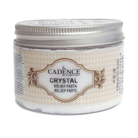 Pasta de relieve Cristal granulada cadence