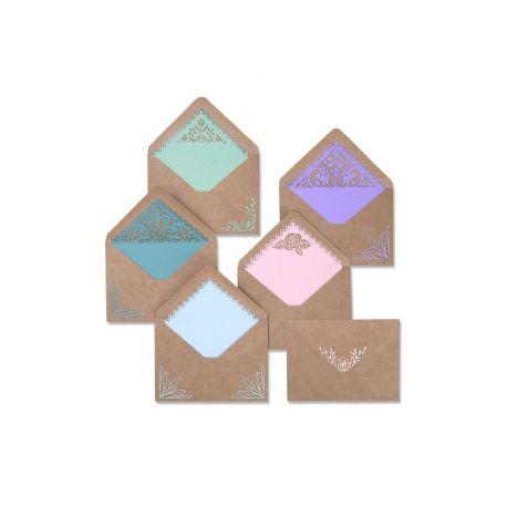 Set 10 troqueles THINLITS Envelope liners intricate by Katelyn Lizardi