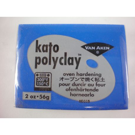 kato polyclay 56g - Azul oscuro - Ultra blue