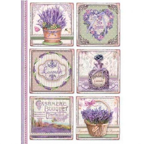 Papel de arroz DinA4 Provence Cards