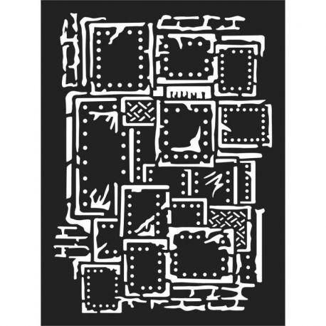 Stencil Stamperia 15x20cm y 0.5mm by Antonis Tzanidakis - Steampunk