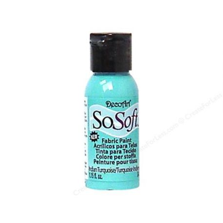 Pintura para tela Sosoft Americana Indian Turquoise
