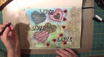 ART JOURNAL LOVE