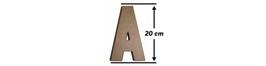 Abecedarios 20cm